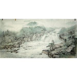 陈建平山水画7_书画作品 世界华人书画家协会,书画图片