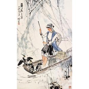 保护洱海绘画作品